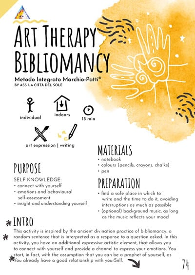 Art Therapy Bibliomancy