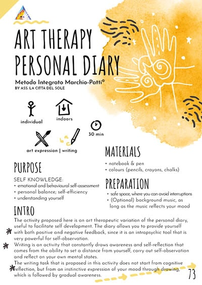 Art Therapy Personal Diary