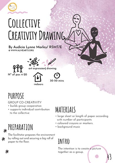 Collective Creativity Drawing