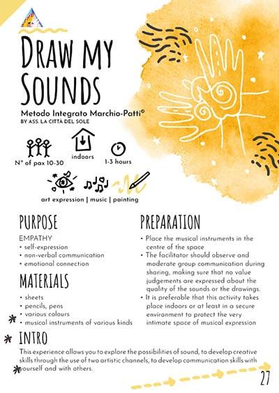 Draw my sounds