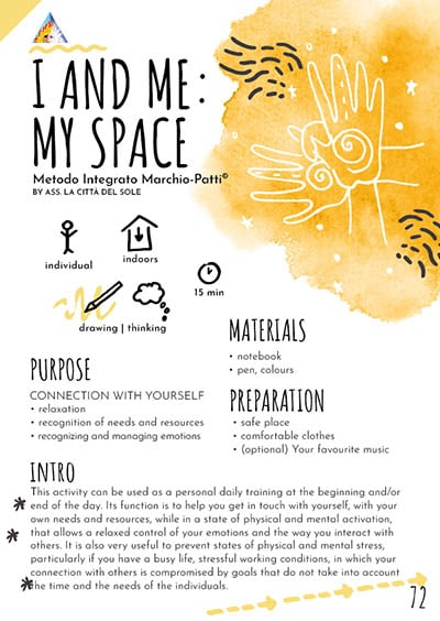 I and me: My space