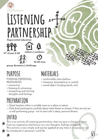 Listening partnership