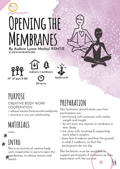 Opening the Membranes
