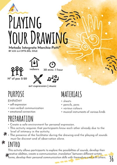 Playing your drawing