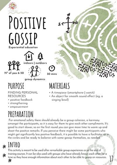 Positive gossip